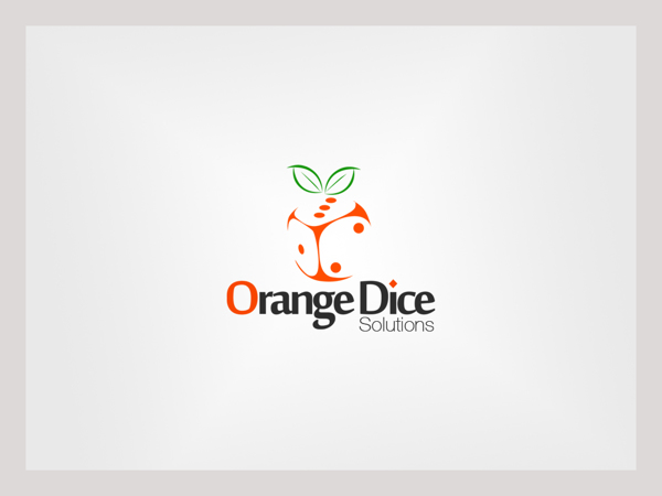 orange dice logo